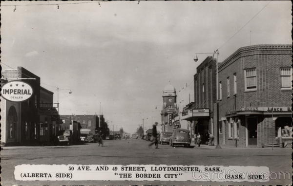 50 Avenue and 49 Street Lloydminster Canada Saskatchewan