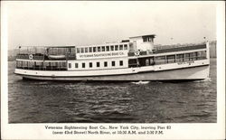 Veterans Sightseeing Boat Co