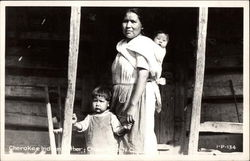 Cherokee Indian Family