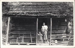 A Cherokee Indian Home