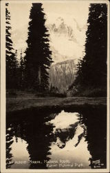 An Alpine Mirror, Mazama Ridge