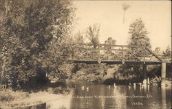 Bridge over Kishwaukee River