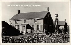 View of Residence Postcard
