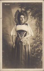Woman in Native Dress