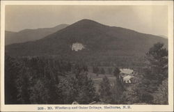 Mt. Winthrop and Gates Cottage