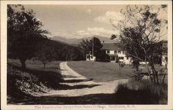 The Presidential Range from Gates Cottage