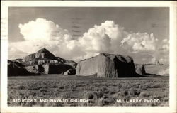 Red Rocks and Navajo Church