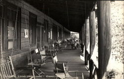 Grand Lake Lodge - Veranda
