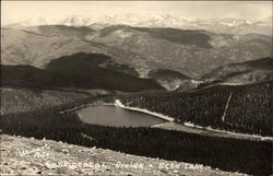 Continental Divide and Echo Lake