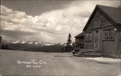 Cabin at Berthoud Pass