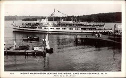 The Mount Washington Leaving the Weirs
