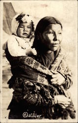 Native American Mother with Child