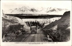 Climbing a Steep Grade on the Alaska Highway