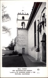 San Buenaventura Mission - Bell Tower