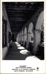 Colonade, Santa Barbara Mission