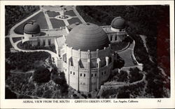 Aerial View from the South, Griffith Observatory