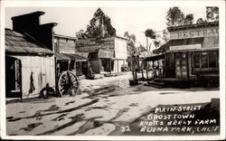 Main Street Ghost Town Knotts Berry Farm