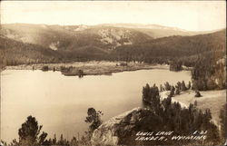 View of Louis Lake