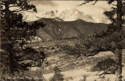 Vista of Pikes Peak