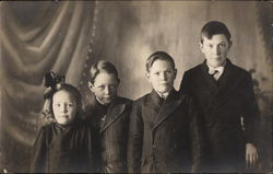 Four Siblings Portrait