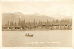 Jasper Park Lodge and Lake Beauvert