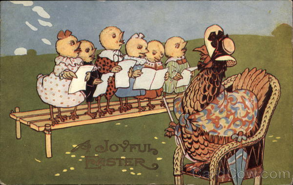 A Joyful Easter - Chicks Singing With Chicks