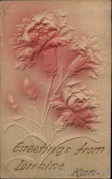 Embossed Flowers Airbrushed