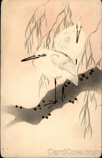 Japanese - White Birds on a Branch
