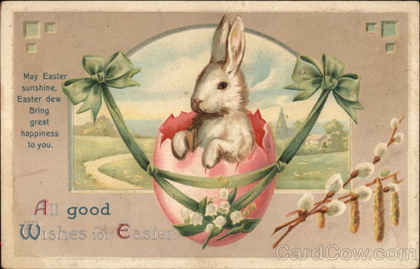 All good wishes for Easter With Bunnies