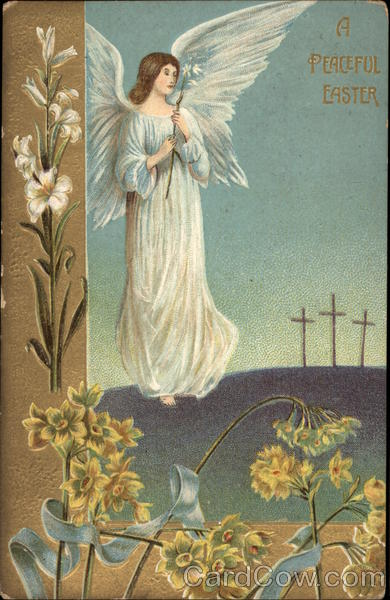 A Peaceful Easter With Angels