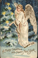 Angel & Christmas Tree