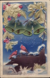 A Happy New Year - Bells and Birds