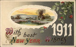 With Best New Year Wishes - 1911