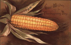 Good Wishes for Thanksgiving Day - Corn on the Cob