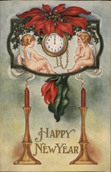 Cupida Watch a Timepiece, with Candles and Seasonal Flowers