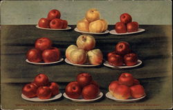 Plates of Apples
