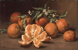 Oranges with Blossom