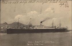 RMS Cretic, 13500 Tons, White Star Line