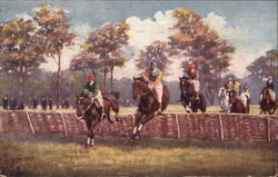 Steeplechasing - Taking The Hurdle