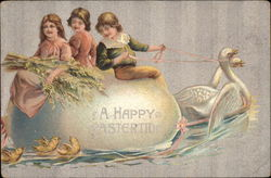 A Happy Eastertide Postcard