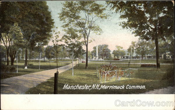 Merrimack Common Manchester New Hampshire
