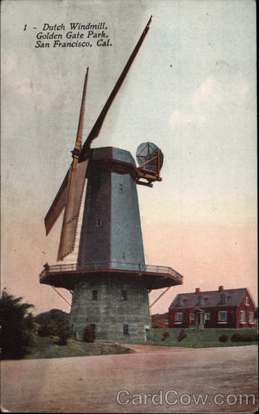 Dutch Windmill, Golden Gate Park San Francisco California