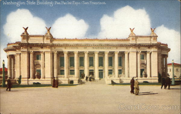 Washington State Building, Pan.Pac. Int. Exposition San Francisco California