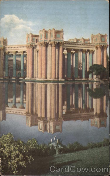 Colonnades - Palace of Fine Arts at the Panama Pacific International Exposition, 1915 San Francisco California