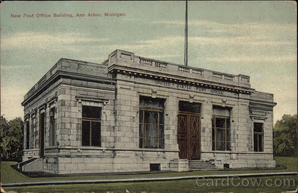 New Post Office Building Ann Arbor Michigan