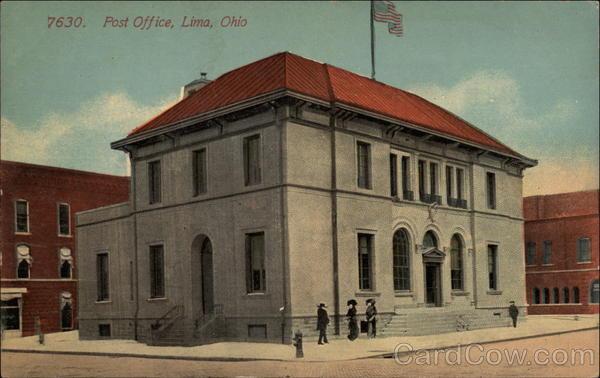 Post Office Lima Ohio
