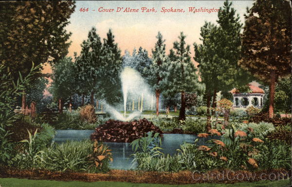 Coeur D'Alene Park Spokane Washington
