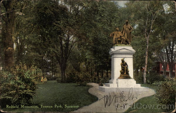 Redfield Monument, Forman Park Syracuse New York