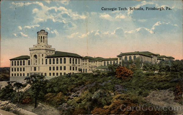 Carnegie Tech. Schools in Pittsburgh Pennsylvania