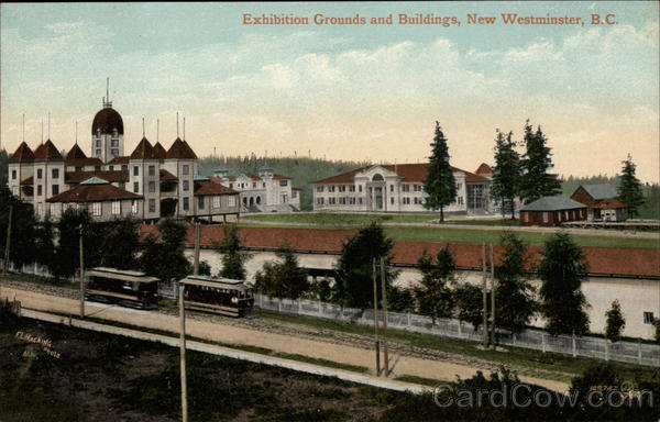 Exhibition Grounds and Buildings New Westminster Canada